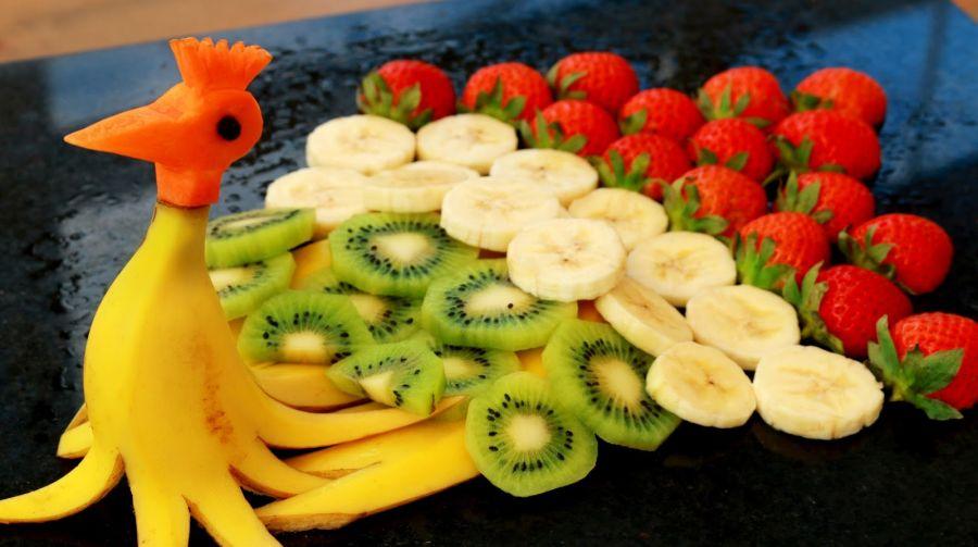 میوه آرایی ساده و زیبا + تصاویر