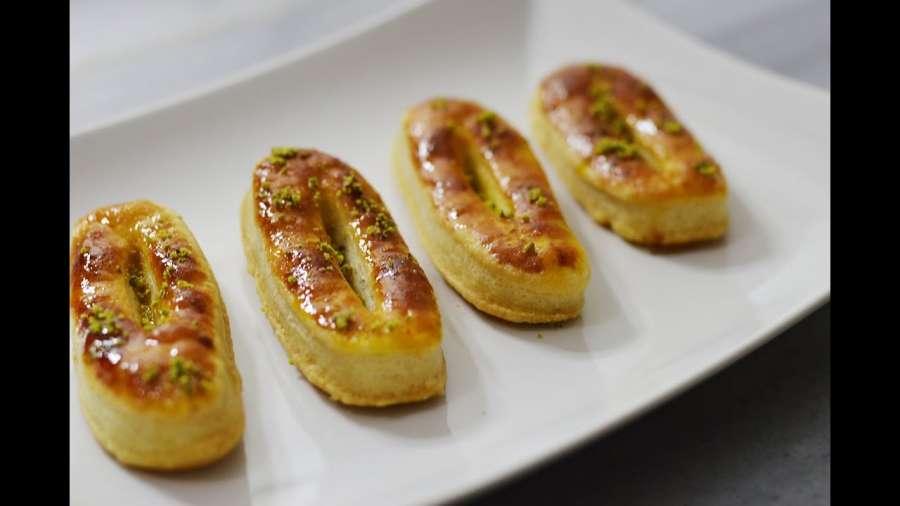 طرز تهیه شیرینی زبان خانگی با بهترین دستور پخت