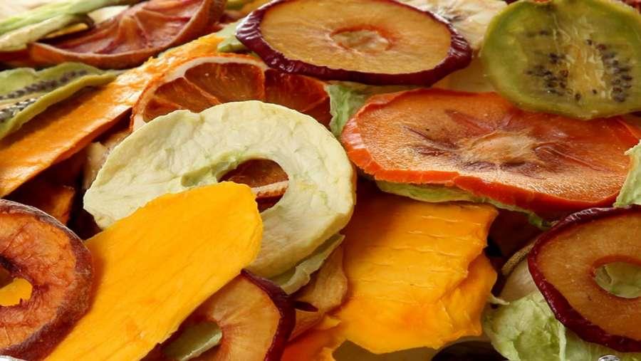 آموزش خشک کردن میوه + طرز تهیه ی چیپس میوه ای