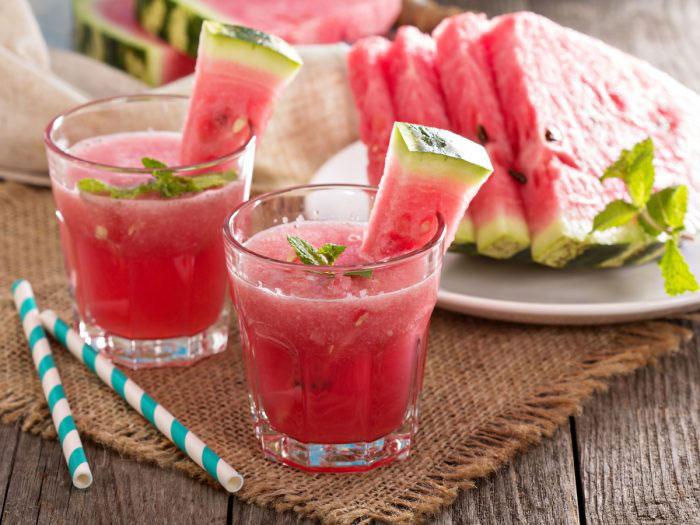 آب هندوانه _ طرز تهیه آب هندوانه