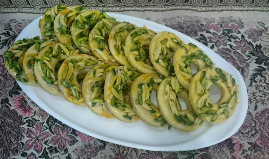 دستور پخت رینگ آجیلی