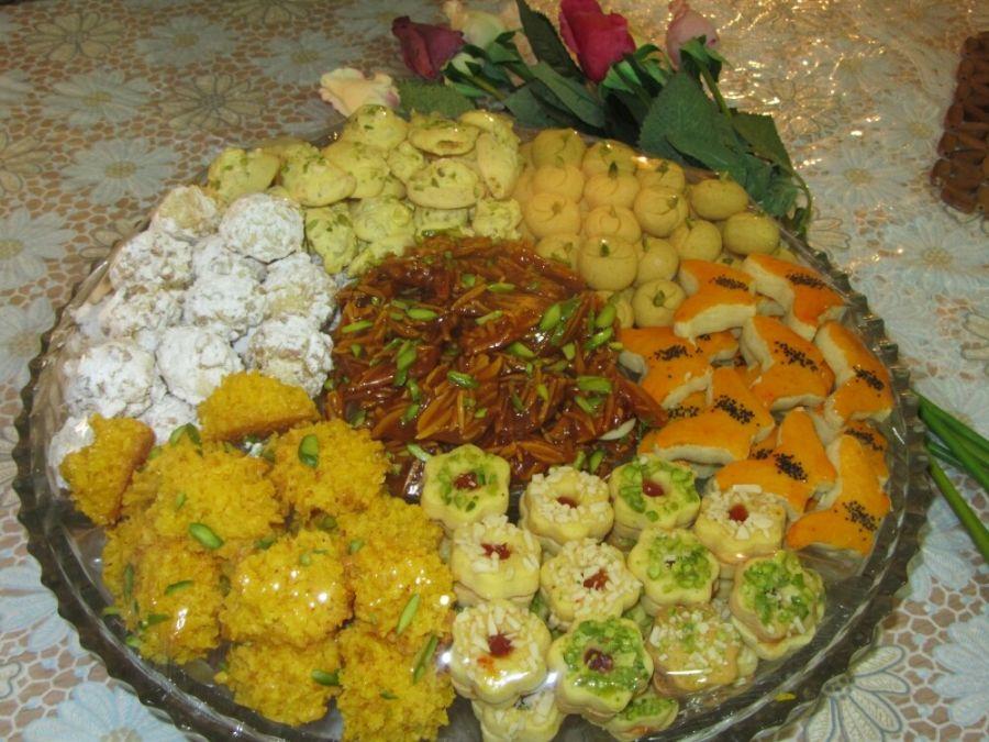 طرز تهیه شیرینی فسایی برای عید نوروز