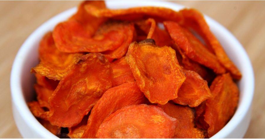 چیپس هویج | طرز تهیه چیپس هویج