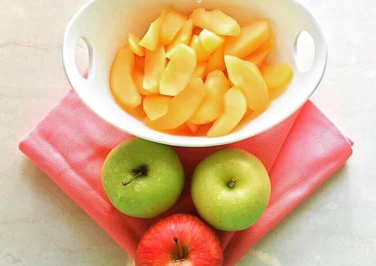 طرز تهیه کمپوت سیب مرحله به مرحله