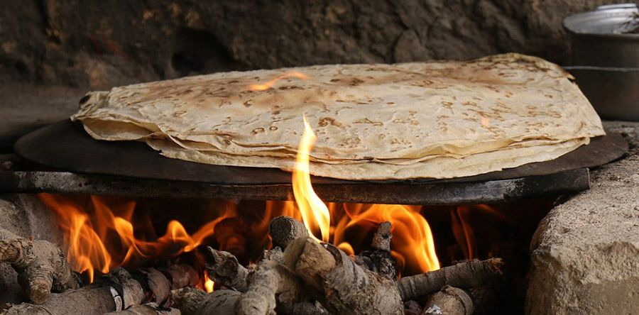 نان : نان تیری(محلی)
