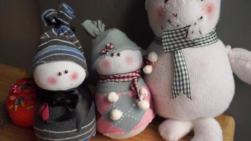 آموزش ساخت عروسک خرس با جوراب کهنه