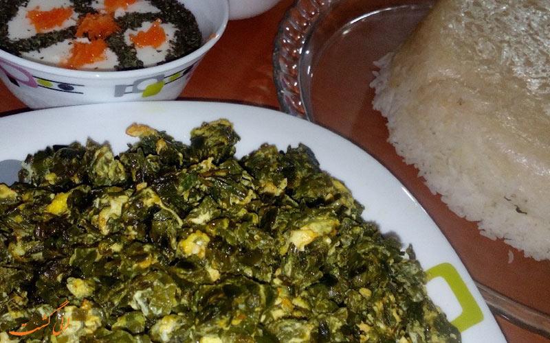 آموزش طرز تهیه سیر واویج غذای خوشمزه و لذیذ گیلانی