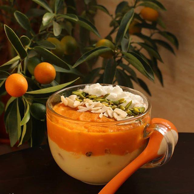 آموزش دسر ماست و نارنگی خوشمزه و دوست داشتنی برای کودکان
