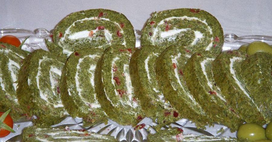 طرز تهیه رولت کوکو سبزی (غذای رژیمی)