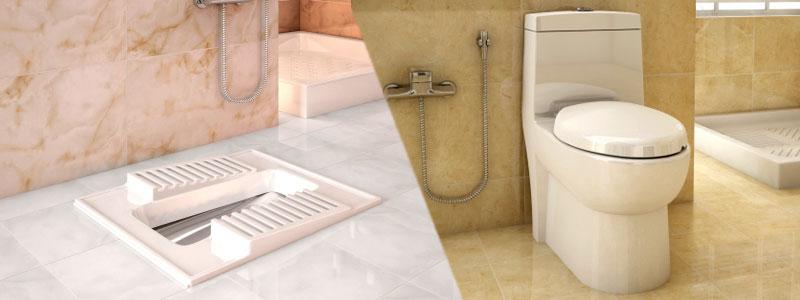مزایا و معایب استفاده از توالت فرنگی و ایرانی