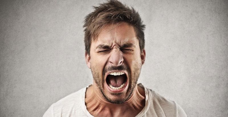 مردها را عصبانی نکنید