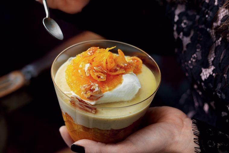 طرز تهیه فرنی پرتقالی مختص ماه مبارک رمضان