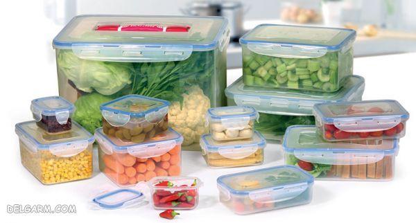 بهترین ظرف برای نگهداری مواد غذایی کدام است؟ ( میوه و سبزیجات )