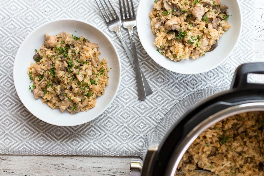 پتاژ جو یا برنج با مایکروفر با طعمی متفاوت