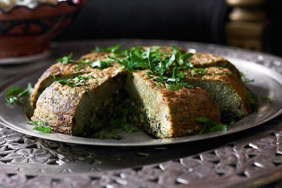 طرز تهیه کوکو سبزی مرحله به مرحله