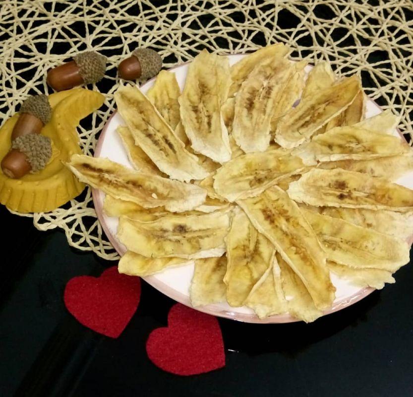 چند روش عالی برای خشک کردن میوه موز در خانه