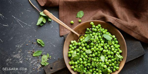 روشی طلایی برای انجماد نخود فرنگی و باقلا سبز