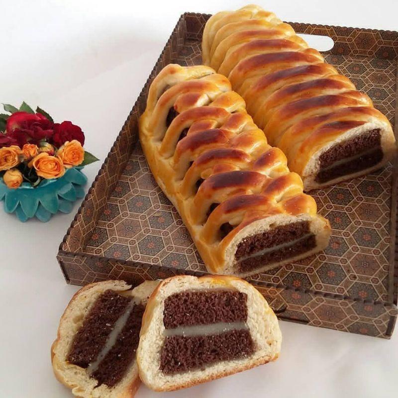 طرز تهیه انواع نان شکم پر
