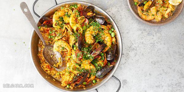 ۱۰ غذای برتر اسپانیایی : طرز تهیه خوراک رژیمی اسپانیایی + عکس