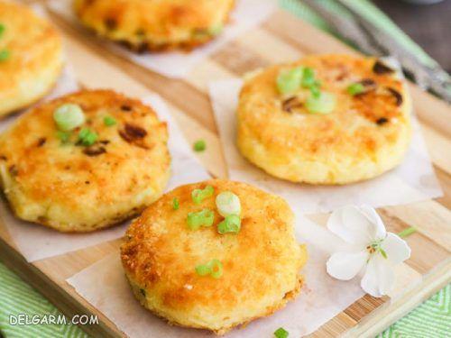 طرز تهیه کیک سیب زمینی با ۵ روش متفاوت و عالی در منزل  + عکس