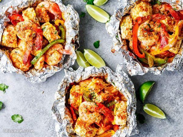 ۸ غذای دریایی فوق العاده خوشمزه با میگو + عکس