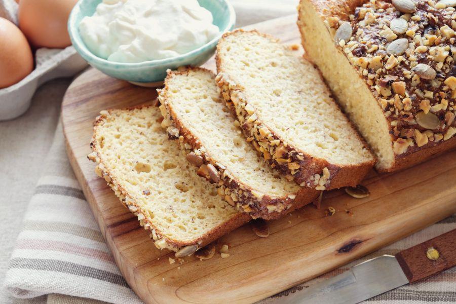 طرز تهیه نان کتو یک نان بدون آرد و کم کربوهیدرات