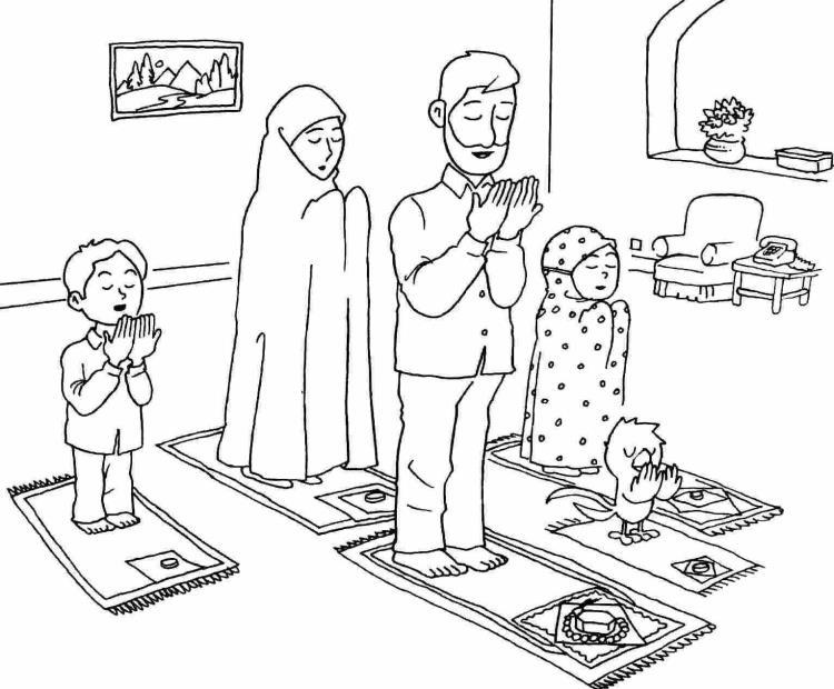 طرز صحیح نماز خواندن + ترجمه نماز