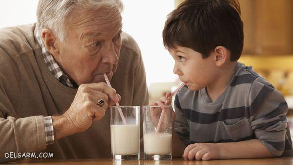 ۲۰ خاصیت حیرت انگیز خوردن شیر در شب قبل از خواب