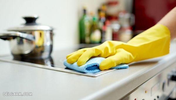 ۷ راهکار طلایی برای تمیز نگه داشتن آشپزخانه