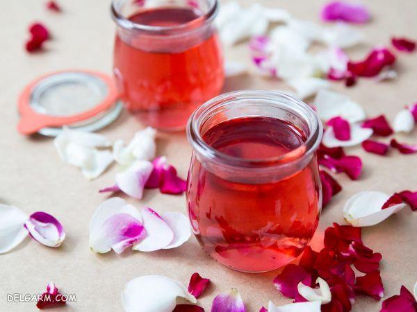 شربت گل سرخ : طرز تهیه و خواص شربت گل محمدی