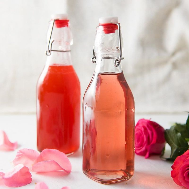 شربت گل محمدی+خواص گل سرخ یا محمدی