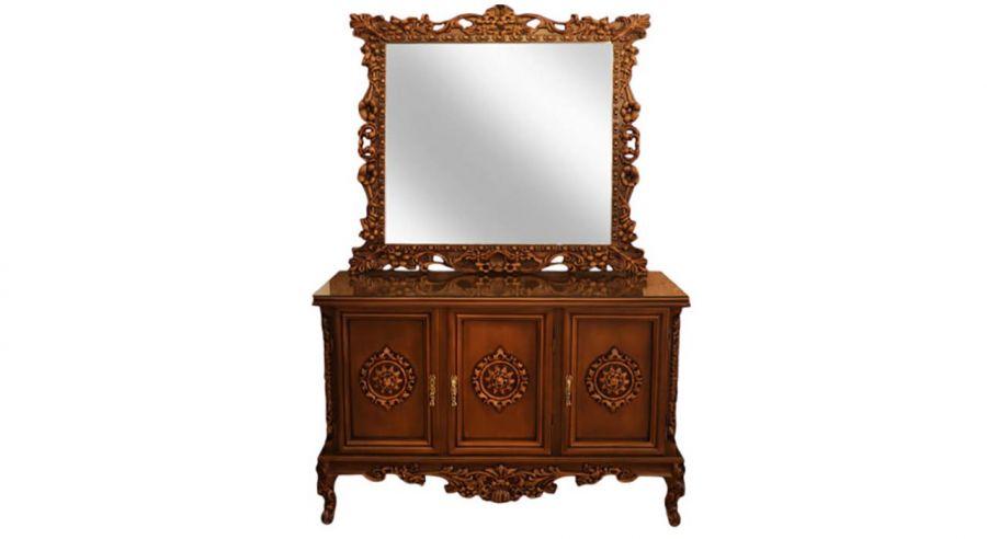 فوت و فن تمیز کردن آینه و کنسول