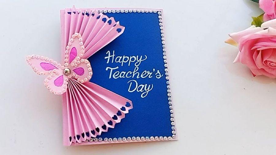 آموزش درست کردن 4 مدل کارت پستال روز معلم