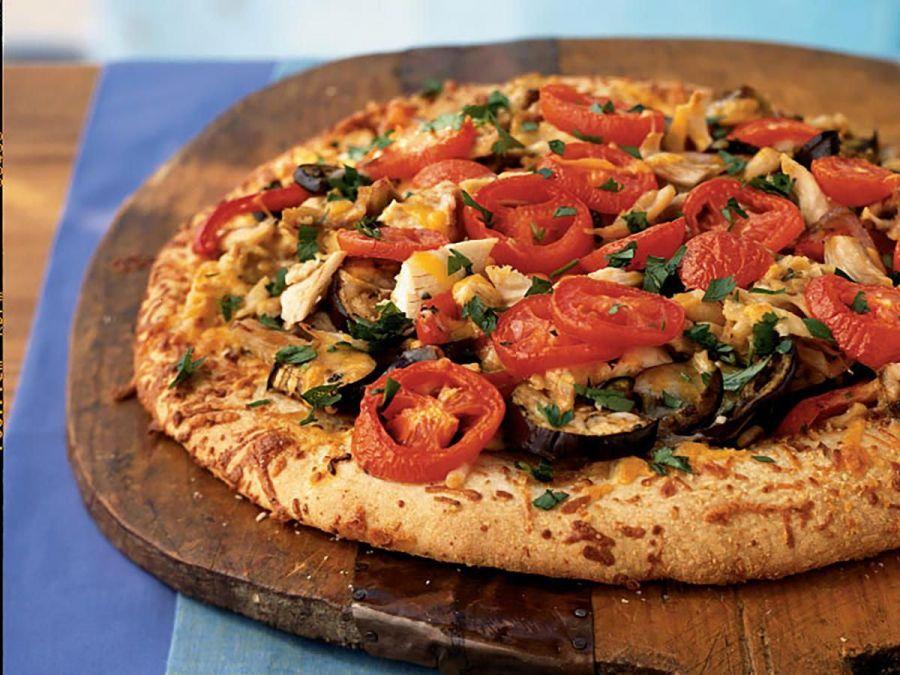 طرز تهیه پیتزا راتاتویی مناسب رژیم گیاهخواری