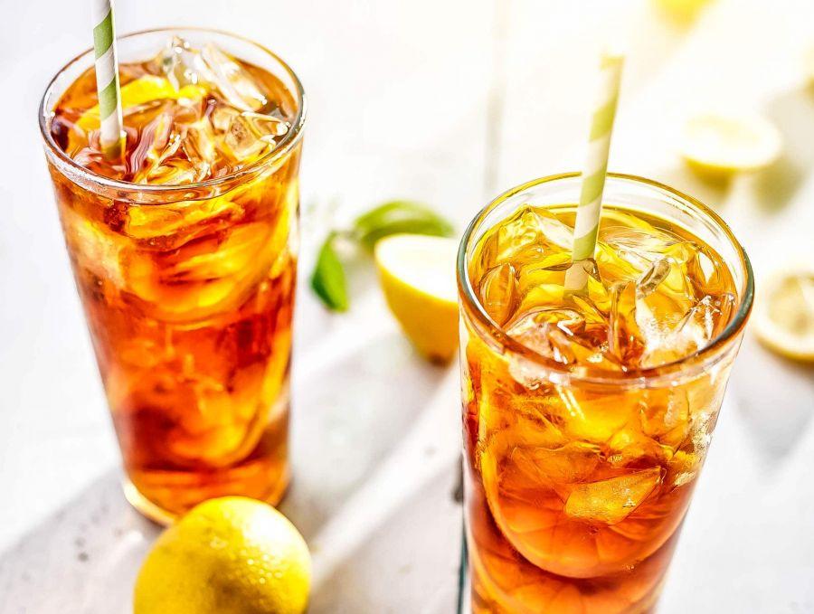 طرز تهیه یخ چای مرحله به مرحله