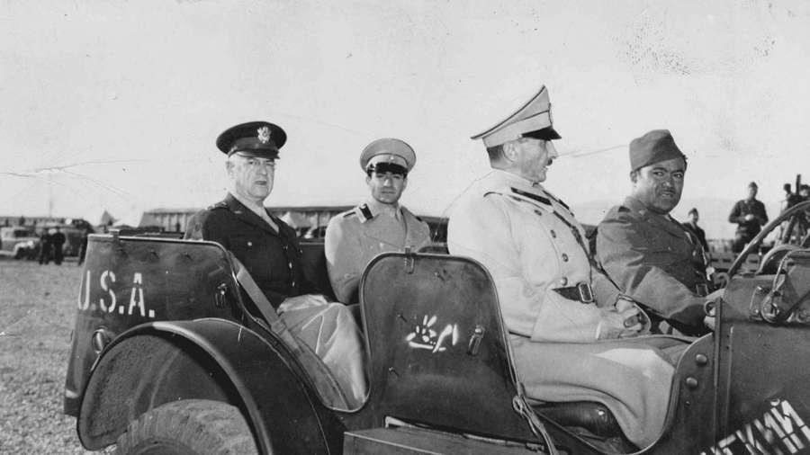 اشغال ایران در جنگ جهانی دوم