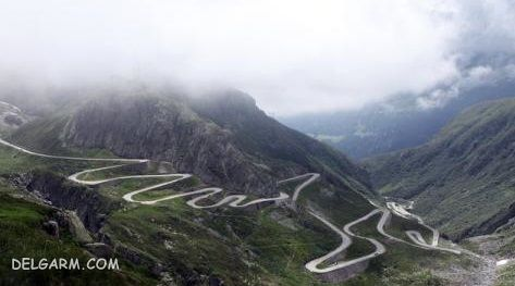جاده استلویو ایتالیا