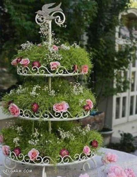 سبزه 98 مدل کیک تولد