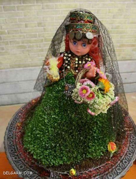 سبزه 98 مدل عروسکی