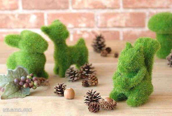 سبزه 98 مدل سنجاب . گربه . خرگوش