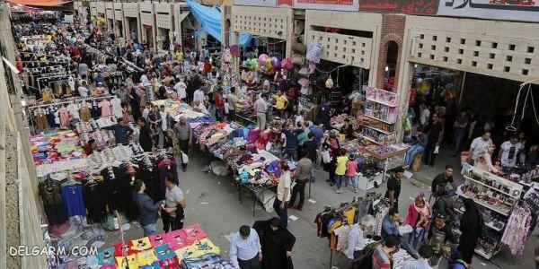 بازار ته لنجی آبادان؛ خیابان امیری