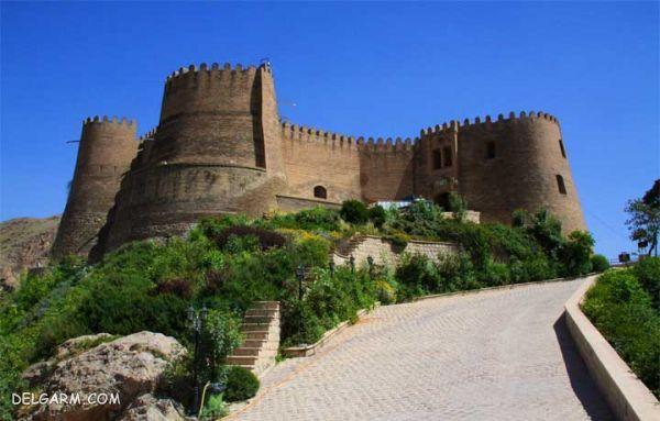 قلعه فلک الافلاک ؛ بی همتا در آسمان خرم آباد