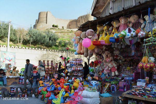 بازار روز خرم آباد از بازارهای قدیمی