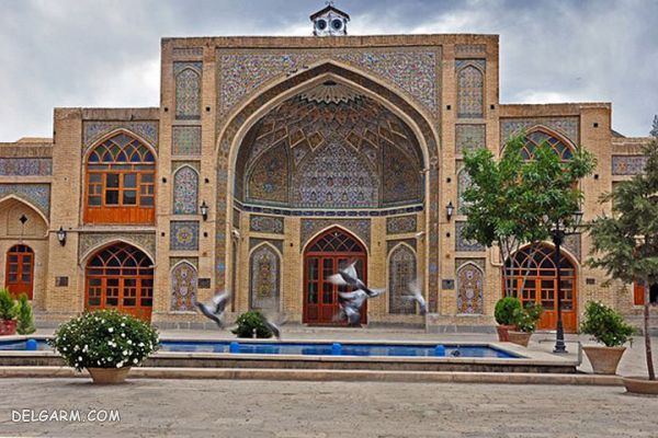 موقعیت جغرافیایی مسجد عماد الدوله کرمانشاه