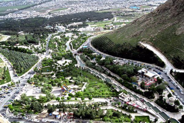 پارک کوهستان در کرمانشاه