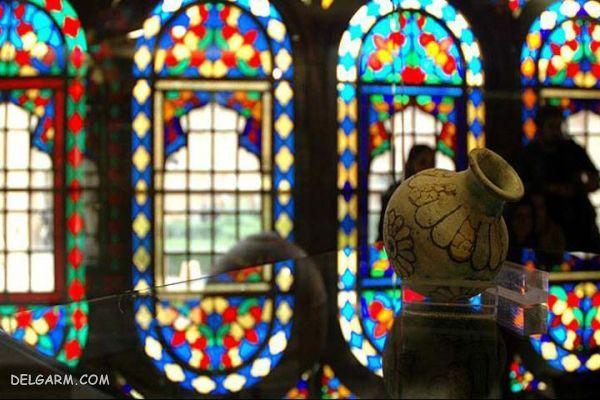 موزه سنندج (عمارت سالار سعید) ؛ رنگ بازی نور