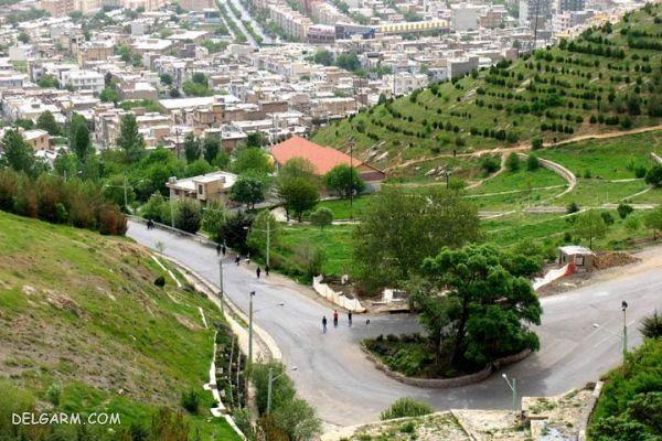 پارک آبیدر ؛ چشم اندازی بر فراز شهر