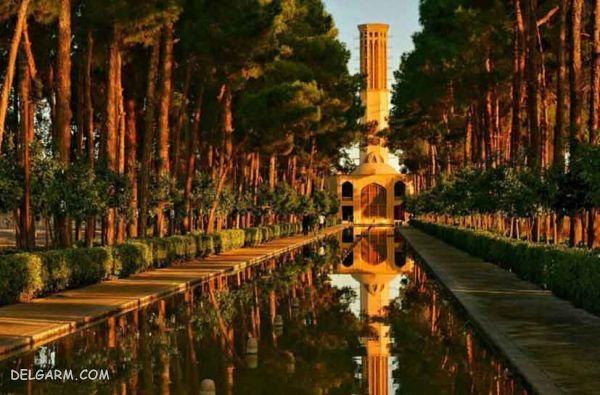 هشت باغ دولت آباد یزد