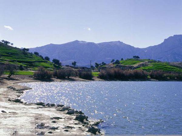 دریاچه برم الوان یاسوج
