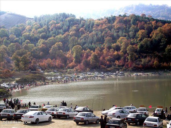 دریاچه توشن گرگان